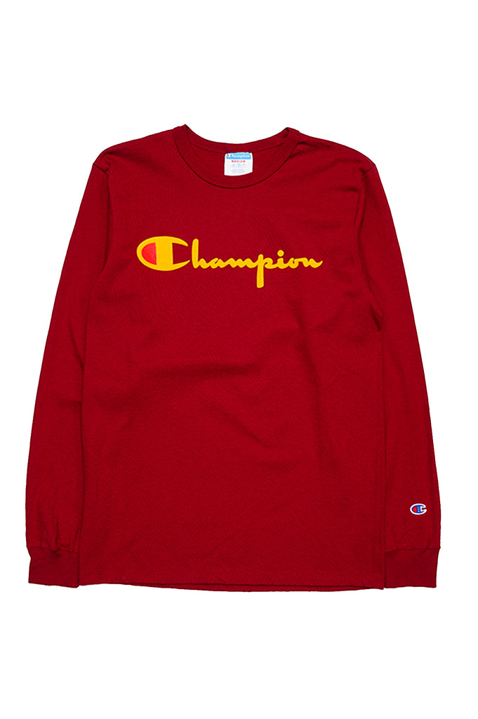 Champion Men Direct Flock Script