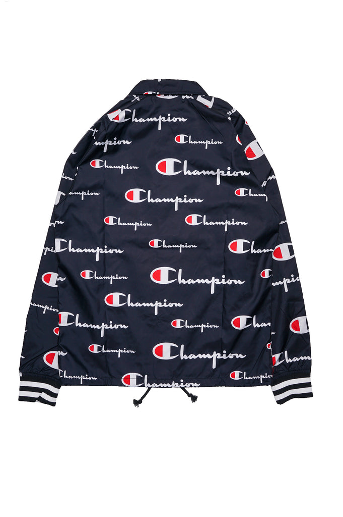 Champion Men Satin Coaches Jacket All Over