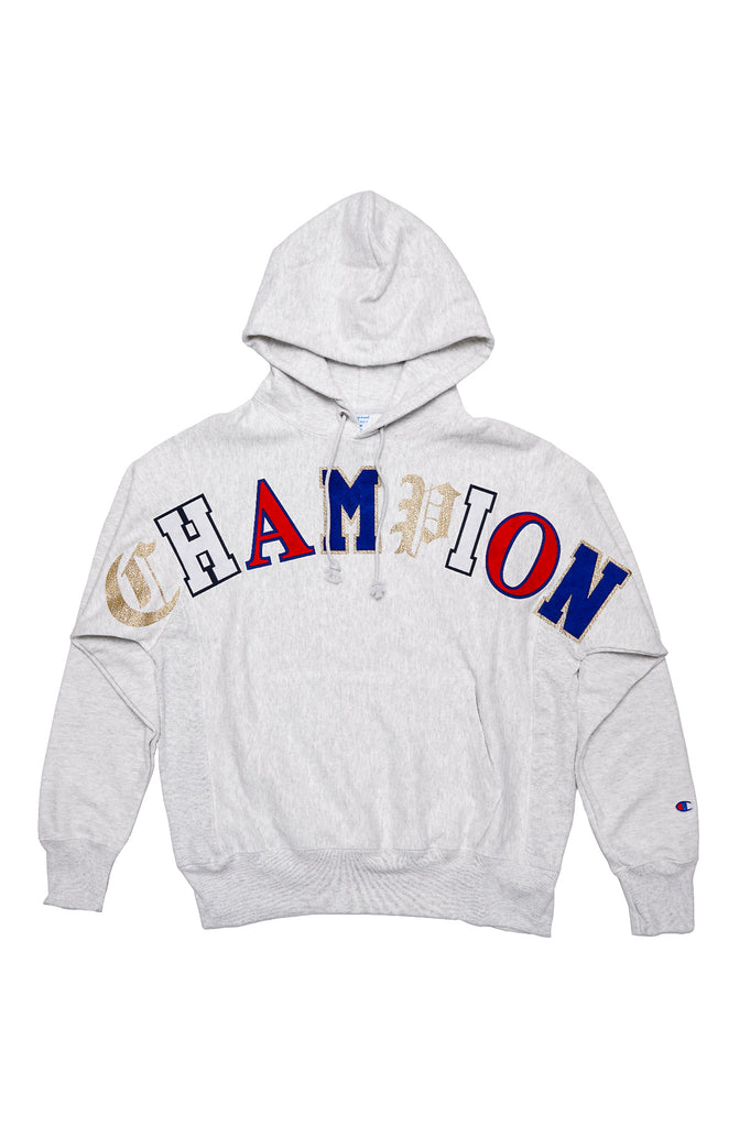 Champion Men Rw Old English Lettering Hoodie