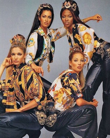 Naomi Campbell Gianni Versace Campaign