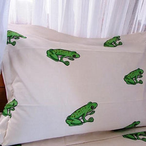 Simple Luxury Quilt Set in Tree Frogs
