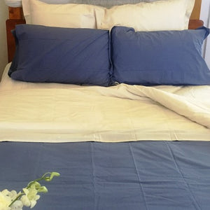 Soft Percale Sheet Set in Natural