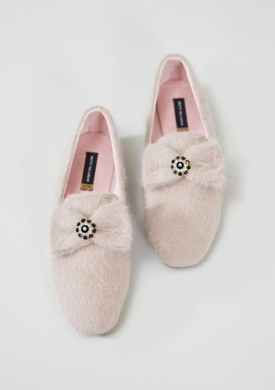 Slippers Womens House Shoe Blair - Pink from Pretty You London