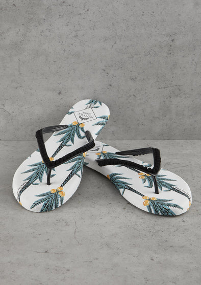 Sandals Coconut Printed Flip Flops from Pretty You London