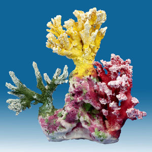 AC008 Artificial Fake Coral Aquarium Decor for Marine Tanks