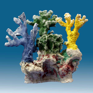 DM054 Fake Coral Reef Decor, Aquarium Ornament for Salt Water Tanks