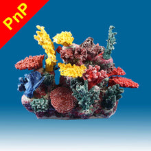 Load image into Gallery viewer, INSTANT REEF® DM066PNP Coral Reef Aquarium Decor for Marine Fish Tanks