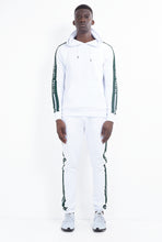 HOODIE - WHITE WITH GREEN