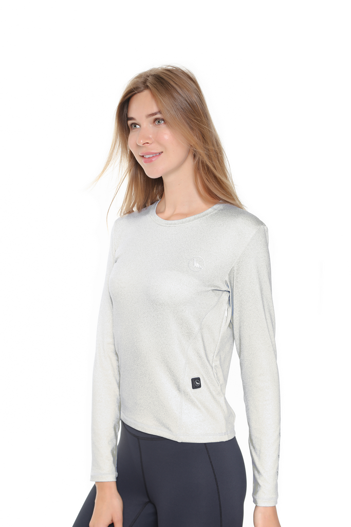 Heated Top Silver | Women