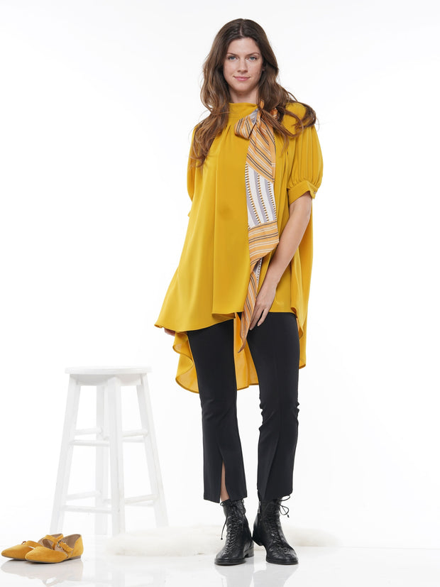 HILO HALF SLEEVED BLOUSE COMES WITH MATCHING SCARF | Why Dress