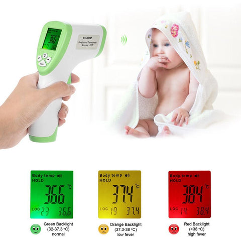 Cupofdeals kids Blue Digital Handheld Infrared Baby & Adult Measuring Surface Thermometer