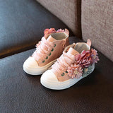 Cupofdeals kids Pink / 6.5 Cute Rubber Flower Sneakers for Girls