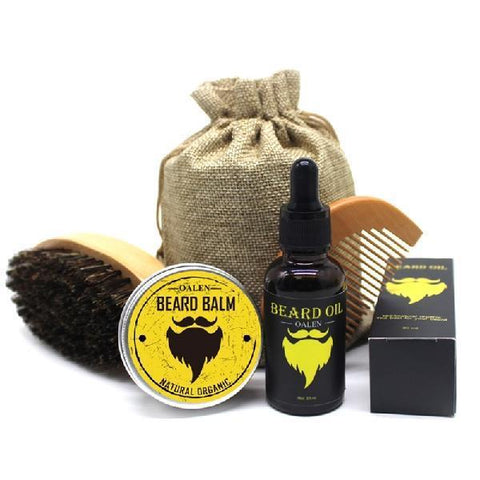 Cupofdeals self care BellyLady Gentlemen Premium Beard Oil Kit