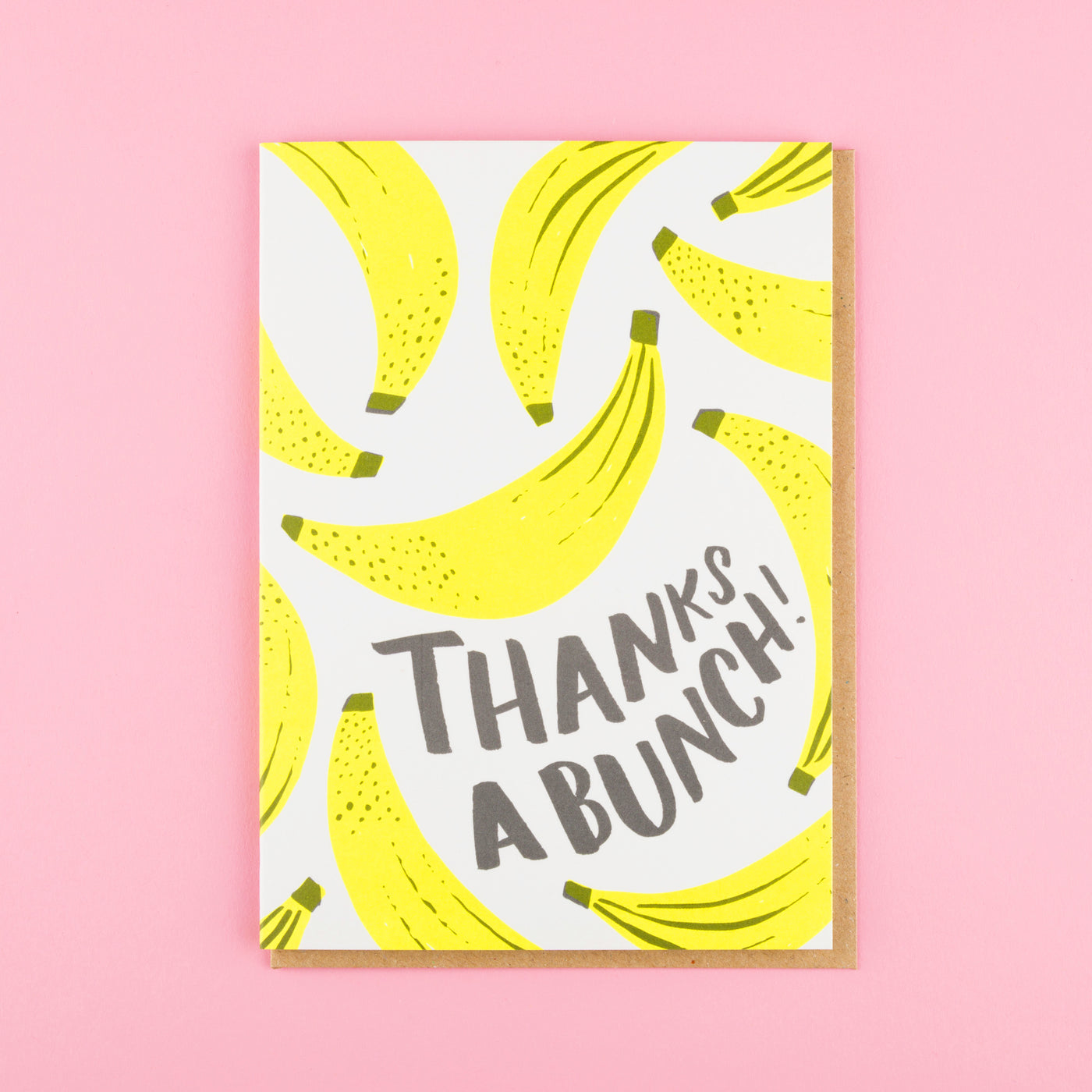 Cool Thank You Card Thanks a Bunch Ohh Deer