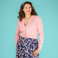 Pink Fifties Cardigan Peggy Sue Emmy Design