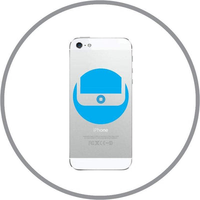 repair In-store Repair iPhone 5 Home Button Repair celltechmobilerepairs