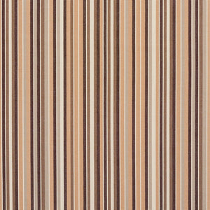Essentials Indoor Outdoor Brown Beige Stripe Upholstery Fabric / Dune