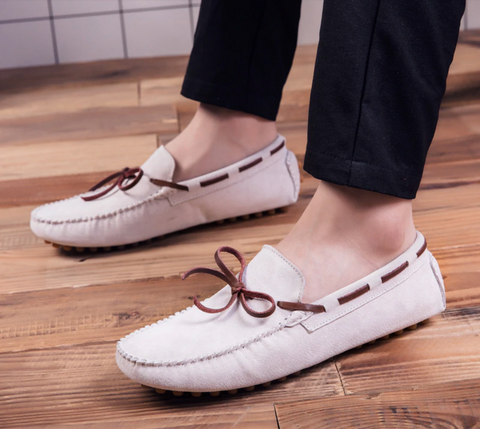 men loafer leather
