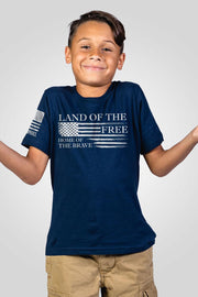 Youth T-Shirt - Home of the Brave