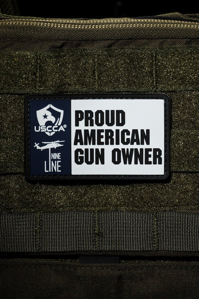 PVC Patch - USCCA Proud American Gun Owner