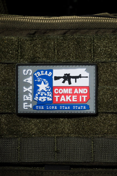 Texas Come and Take It PVC Patch