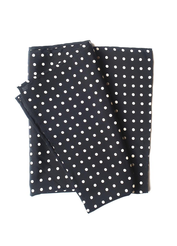 silk neckerchief Polkadot