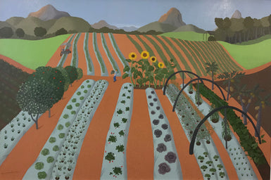 Mixed Farm with Sunflowers 2010