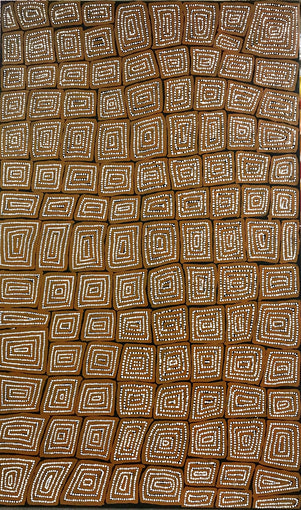 Thomas Tjapaltjarri TTY 1401-8 Tingari Cycle