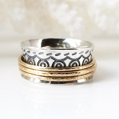 Beyond Swirl Ring