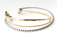 Silver and Gold Bracelet (Light Weight)