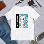 Short Sleeve Unisex T-Shirt Not Alone - Pulgeros