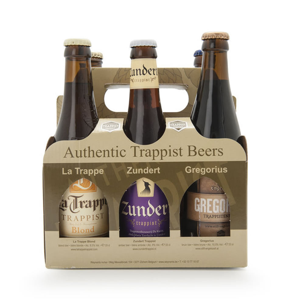 World Trappist Beers Gift Box 6x330ml