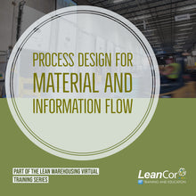 Load image into Gallery viewer, Process Design for Material and Information Flow (VIRTUAL / ON DEMAND)