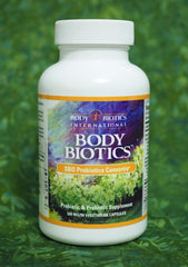 Body Biotics contains bacteria that scientist Peter Daubner found growing in virin soil in a forest.