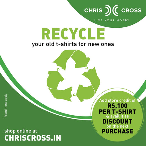 Chris Cross Reduce Recycle Reuse Program