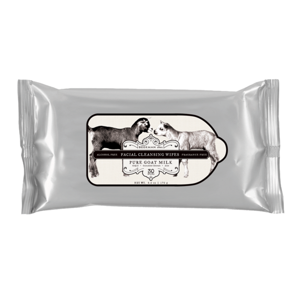 Beekman 1802 Goat Milk Facial Cleansing Wipes (30ct)