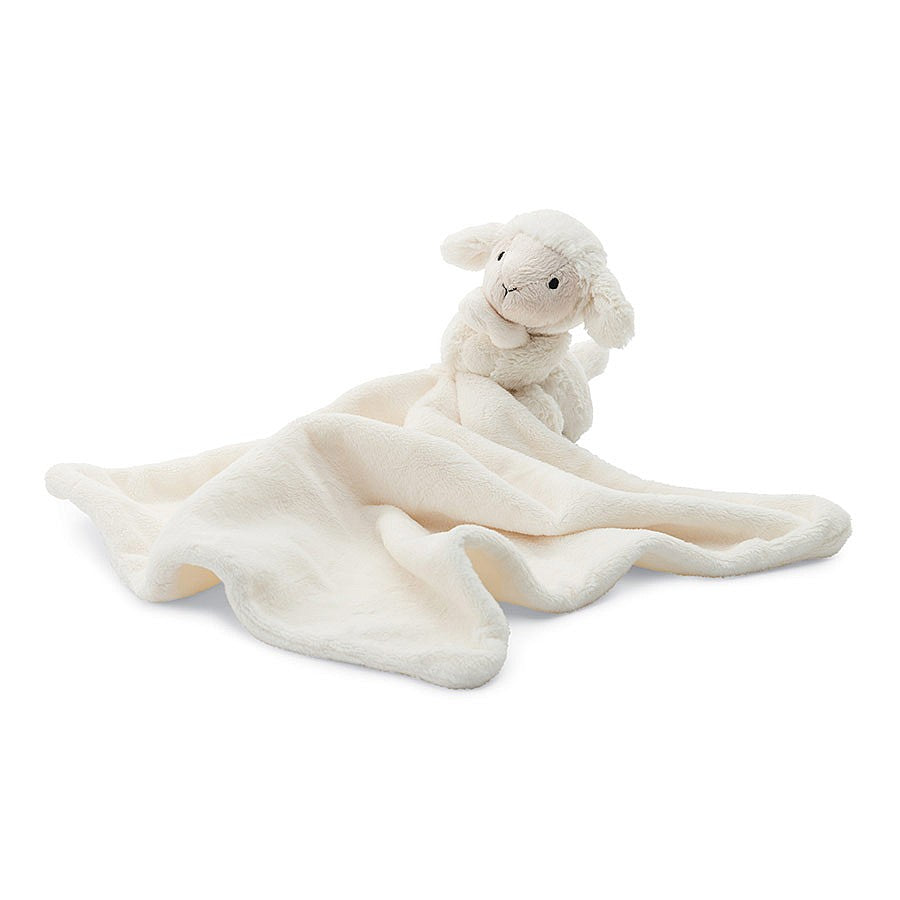 JellyCat Bashful Soft Toys Bashful Lamb Soother, 13""
