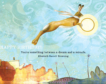 Sacred Bee Card No. 471 Dream & Miracle