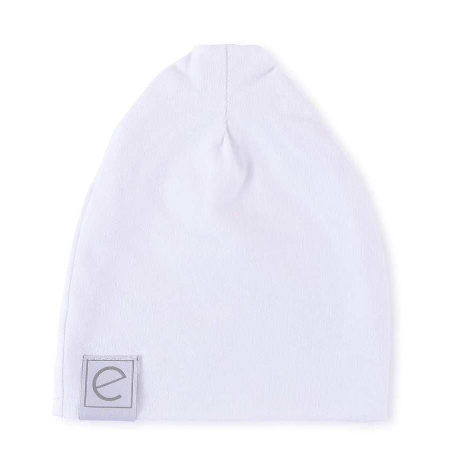 White Swaddle Blanket and Beanie Gift Set by Ely's & Co.