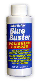 Bike Brite Blue Buster Motorcycle Chrome Pipe Cleaning Powder