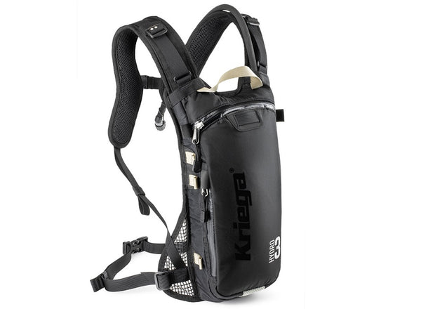 Kriega Hydro-3 Enduro Motorcycle Backpack
