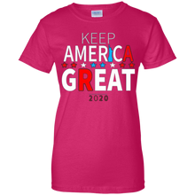 Load image into Gallery viewer, Pink Trump - Keep America Great T-shirt
