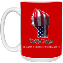 Load image into Gallery viewer, Red We The People Ceramic Mug