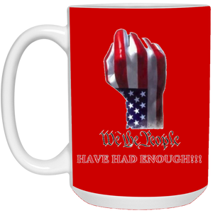 Red We The People Ceramic Mug