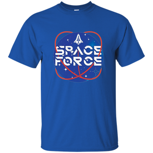 Royal Blue Trump Space Force T-shirt