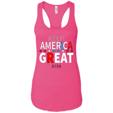 Load image into Gallery viewer, Pink Trump - Keep America Great Tank Top