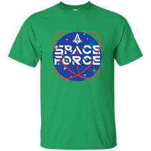 Load image into Gallery viewer, Green Trump Space Force T-shirt