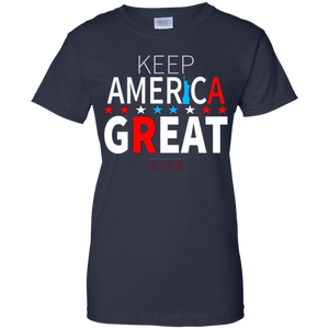 Navy Blue Trump - Keep America Great T-shirt