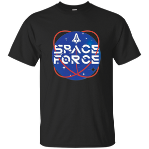 Black Trump Space Force T-shirt