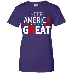 Purple Trump - Keep America Great T-shirt